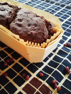 brown rice CAKE「小倉ショコラ」。