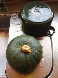 かぼちゃの季節。