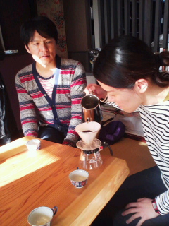 happy coffee lesson②
