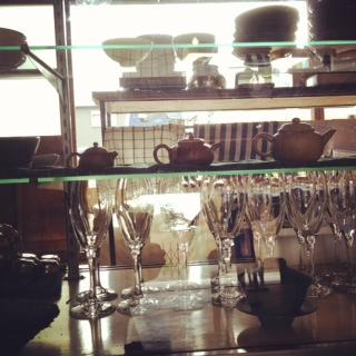 珈琲 × 中国茶 。
